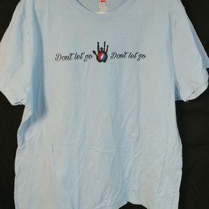 Jerry Garcia Don't Let Go t-shirt